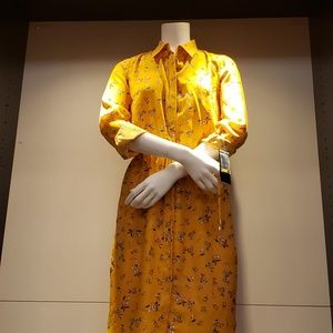 Lauren Ralph Lauren Qadira Floral Print ShirtDress